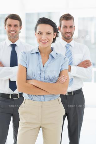 Portrait of a confident smiling business team FYI00000073