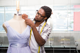 Male fashion designer and mannequin FYI00006117