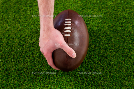 A rugby player doing a touchdown FYI00008664