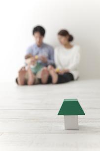積み木と家族 FYI00024292