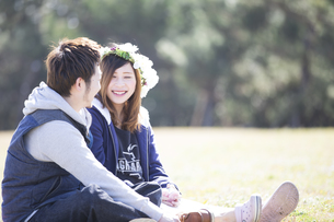 笑顔の夫婦 FYI00025021