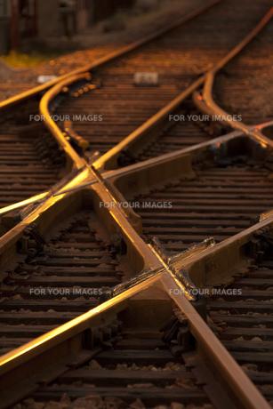 路面電車の線路 FYI00025700