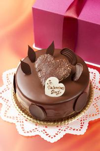 バレンタインチョコケーキ FYI00026279