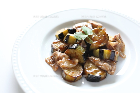 茄子と豚肉の中華炒め FYI00028309