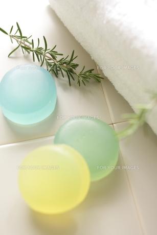 3種類のハーブ石鹸 FYI00029931
