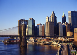 マンハッタンのビル群 FYI00033700