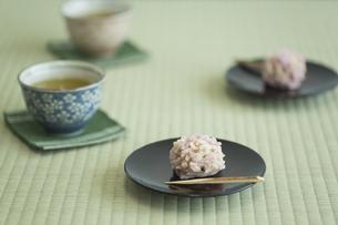 饅頭とお茶 FYI00042180