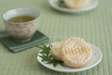 最中とお茶 FYI00042193