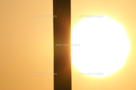 夕日のアップ FYI00042991