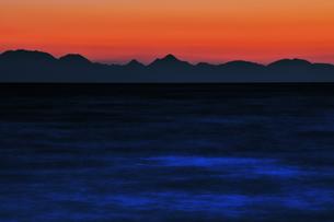 瀬戸内海の日没 FYI00043099