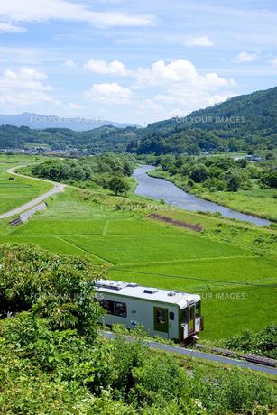 田舎を走る電車 FYI00044304