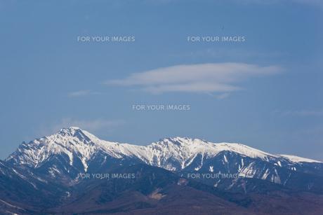 野辺山から望む八ヶ岳 Fyi00044321 気軽に使える写真イラスト素材