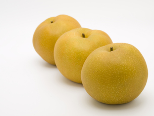 3個の豊水梨 FYI00044521