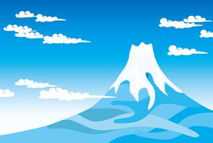 青空と富士山 FYI00044713