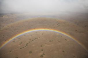ハワイの虹の素材 [FYI00044723]