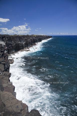 ハワイ島の断崖 FYI00044770