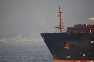 貨物船の船首 FYI00052416
