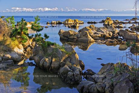 能登島より立山連峰を望む B FYI00056150