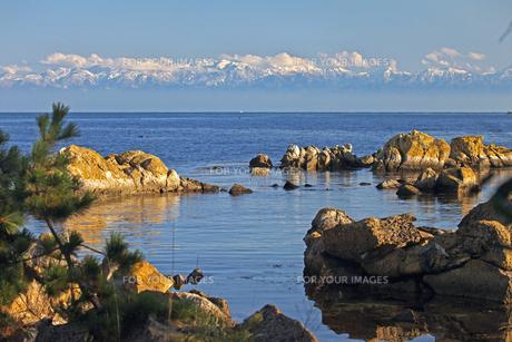 能登島より望む立山連峰 A FYI00056152