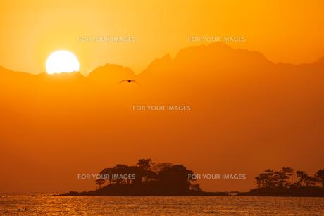 立山連峰からの日の出 1 FYI00056193