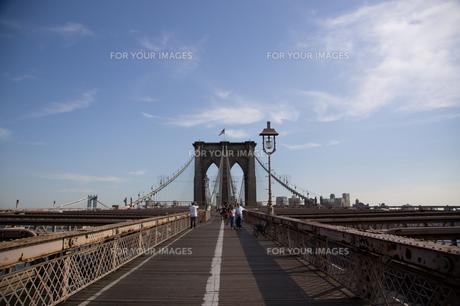 ブルックリンブリッジ(マンハッタン側) FYI00058643