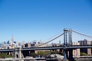 ブルックリンブリッジからのマンハッタンの景色 FYI00058655