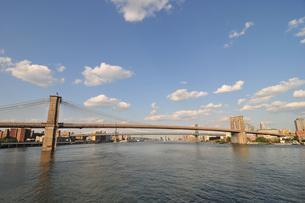 ブルックリンブリッジとマンハッタンブリッジ FYI00059651