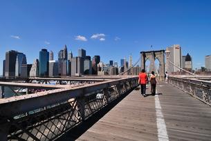 ブルックリンブリッジとマンハッタン FYI00059716