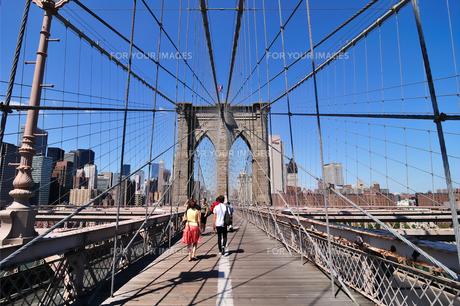 ブルックリンブリッジとマンハッタン FYI00059753
