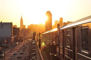 ニューヨークの夕日 FYI00059755