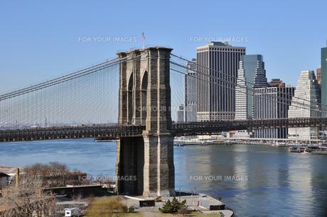 ニューヨーク、ブルックリンブリッジの素材 [FYI00059856]