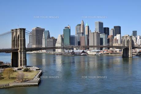 ニューヨーク、ブルックリンブリッジ FYI00059865