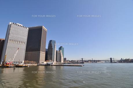 ロワー マンハッタンとブルックリンブリッジの素材 [FYI00060187]