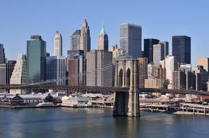 ブルックリンブリッジとロワー マンハッタン FYI00060211