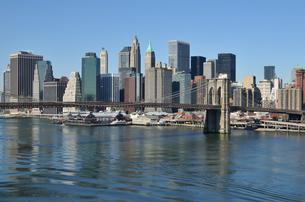 ブルックリンブリッジとロワー マンハッタン FYI00060231