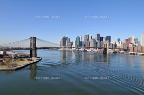 ブルックリンブリッジとロワー マンハッタン FYI00060236