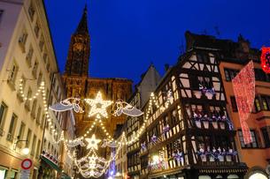フランス ストラスブール クリスマスイルミネーション FYI00063508