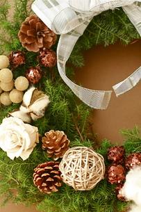 クリスマスリース FYI00073716