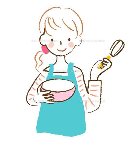 料理をする女性 FYI00075871
