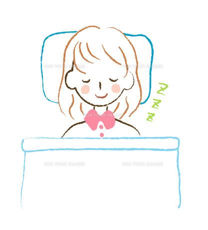 眠る女性 FYI00075877