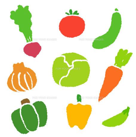色々な野菜の素材 [FYI00075926]