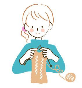 編み物の素材 [FYI00075940]