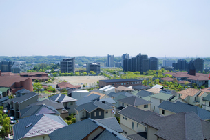 一戸建と高層マンション FYI00082020