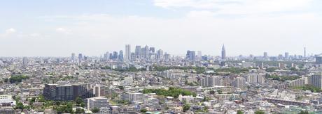 三軒茶屋から新宿副都心方面を見る FYI00082099