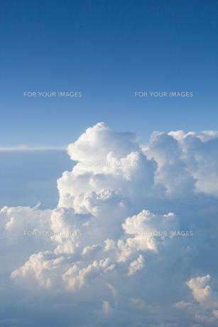 空から見た積乱雲 FYI00082222