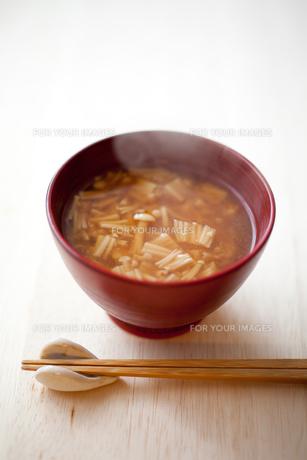 エノキタケの味噌汁 FYI00093710
