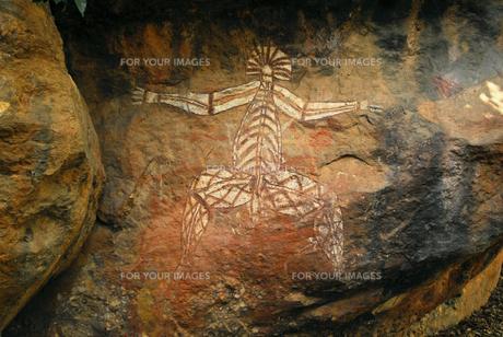 アボリジニ壁画 FYI00107913