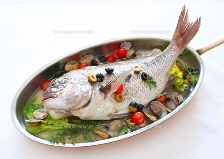 真鯛のアクアパッツァ FYI00108729