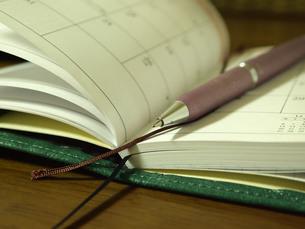 手帳とペン FYI00108947