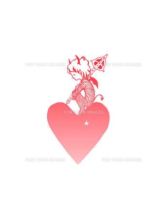ハートの悪魔 ピンク FYI00110516